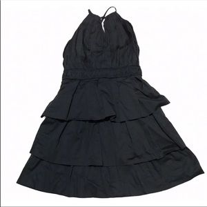 Rubber Ducky Productions Halter Layered Dress M